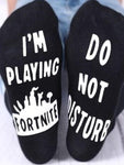 I Am Playing Fortnite Socks