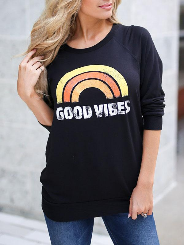 Good Vibes Long Sleeve Sweatshirt