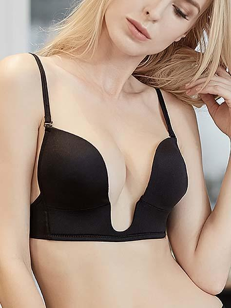 U-type Nude Push Up Sexy Bra