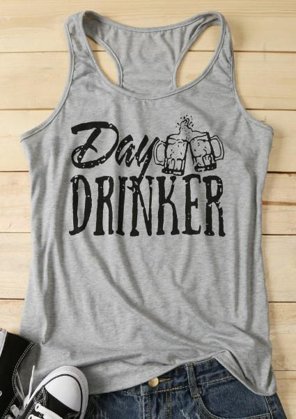 Day Drinker O-Neck Tank
