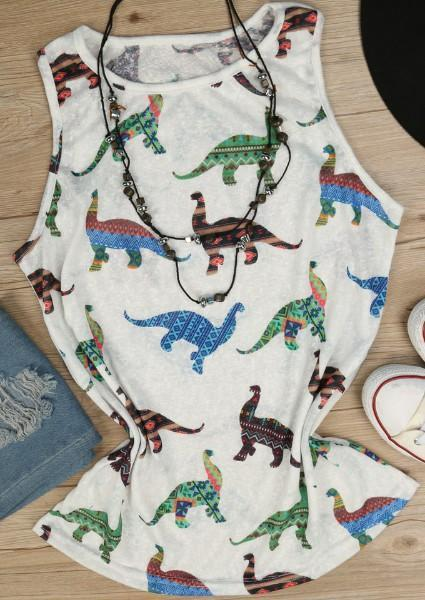 Dinosaur Tank without Necklace