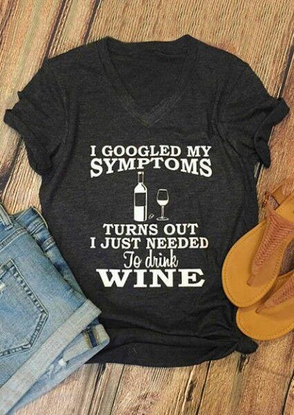 I Just Needed To Drink Wine T-Shirt