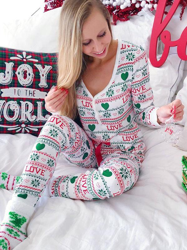 Holiday LOVE Pajamas Set