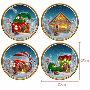Fechicin.com Holiday Christmas Wall Sticker Window Sticker