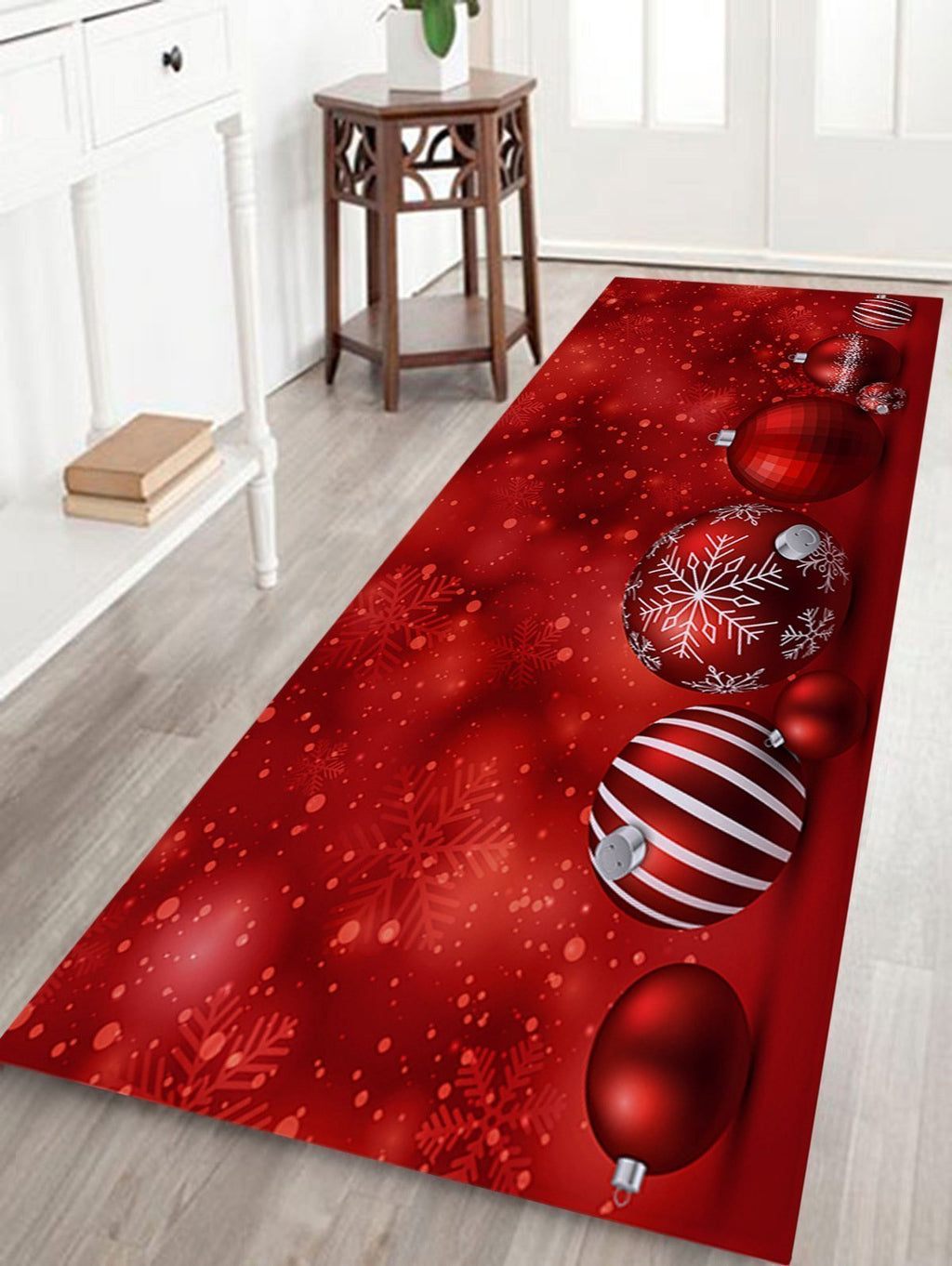 Fechicin.com Holiday Decorations RED / Small Christmas Home Non-slip Mat Carpet