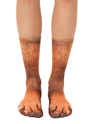 Venuslike.com Socks Animal Paws Crew Socks
