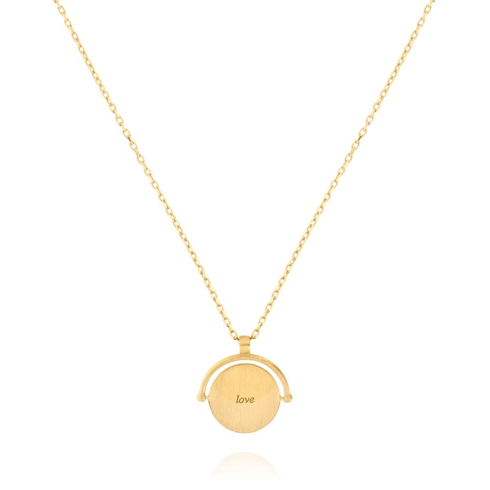 Linda Tahija // Amulets of Alchemy - Love Necklace - Yellow Gold Plated Sterling Silver