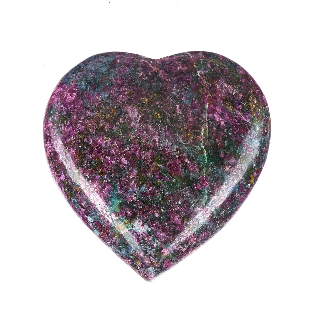 Ruby In Kyanite Heart #9