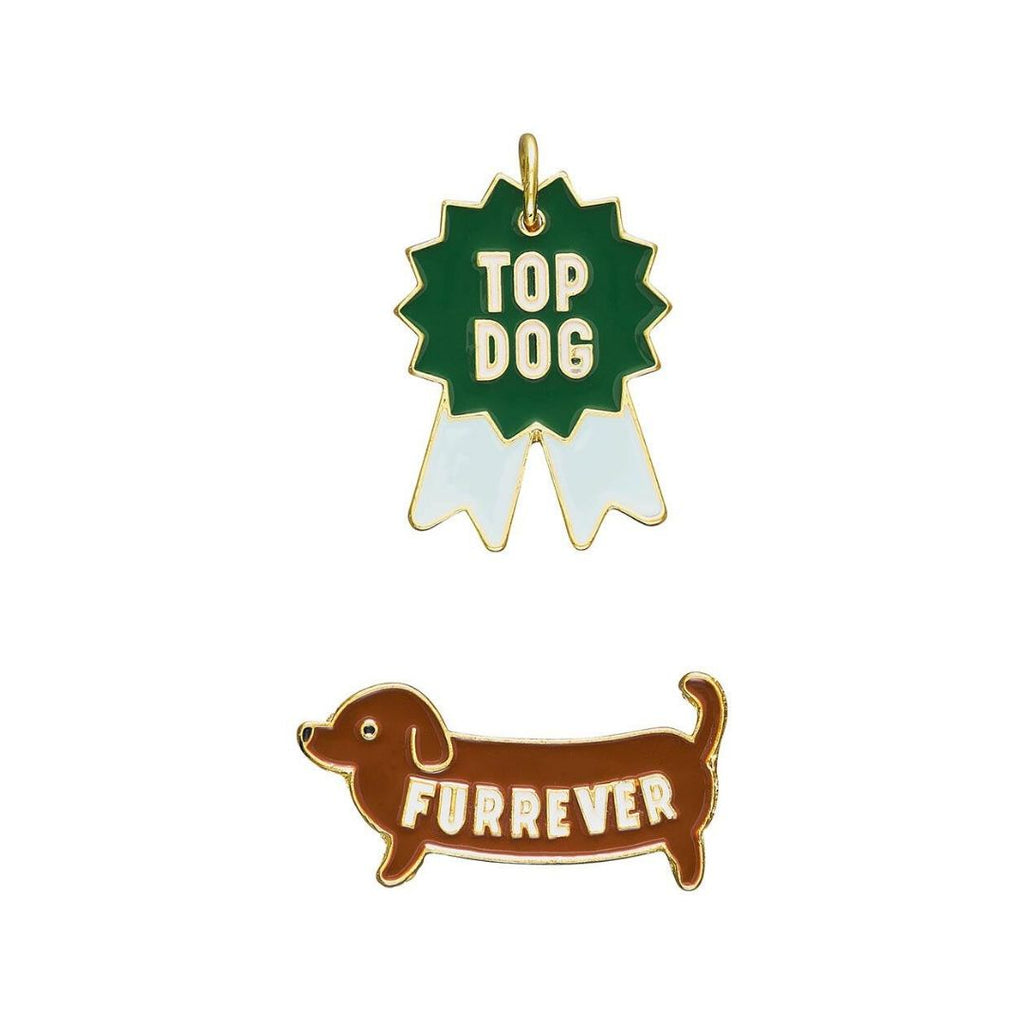 Wild & Woofy // Pin & Tag Set - Dog