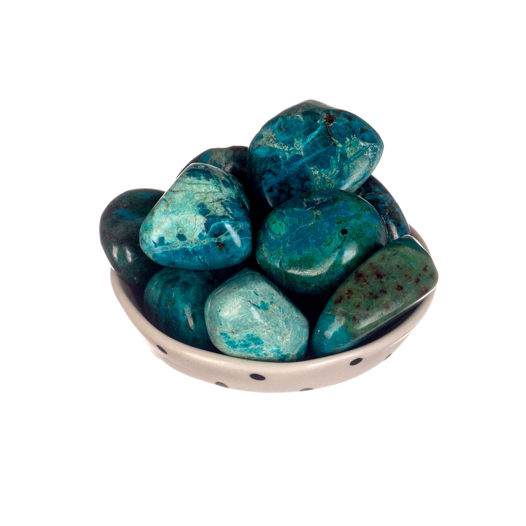 Chrysocolla Tumbled