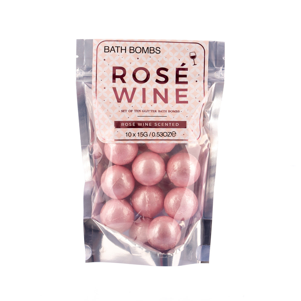 Rosé Wine Bath Bombs - Pack of 10