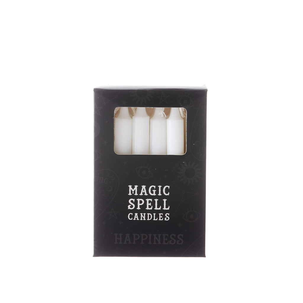 Magic Spell Candles - 12 Pack // White