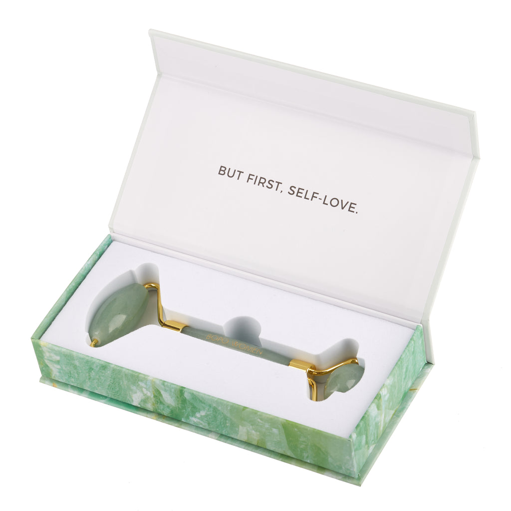 Bopo Women // Jade Crystal Facial Roller Boxed