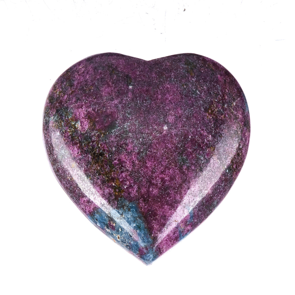 Ruby In Kyanite Heart #4