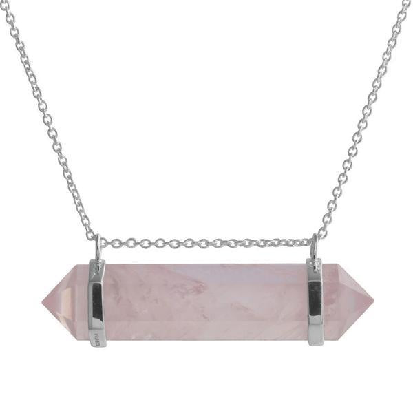 Midsummer Star // Rose Quartz Freedom Necklace