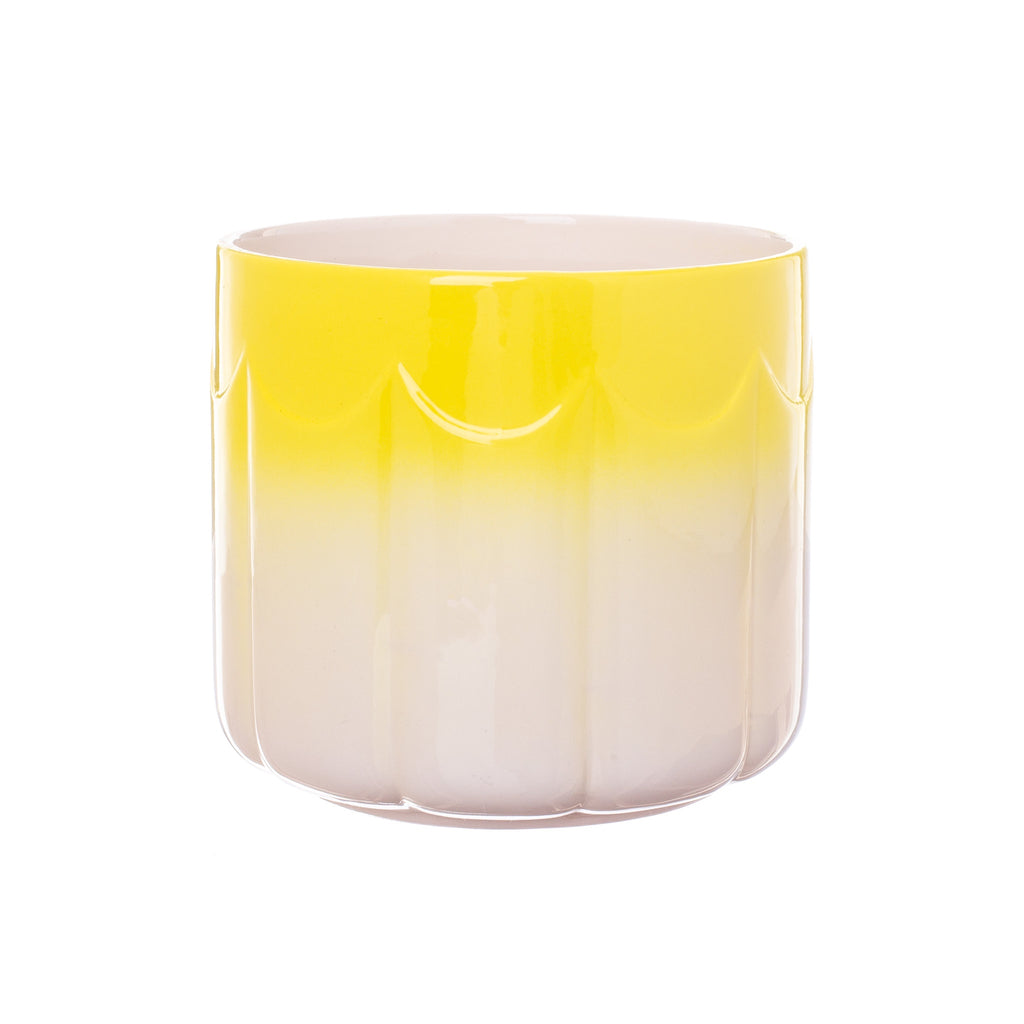Rice by Rice // Yellow Ombre Planter