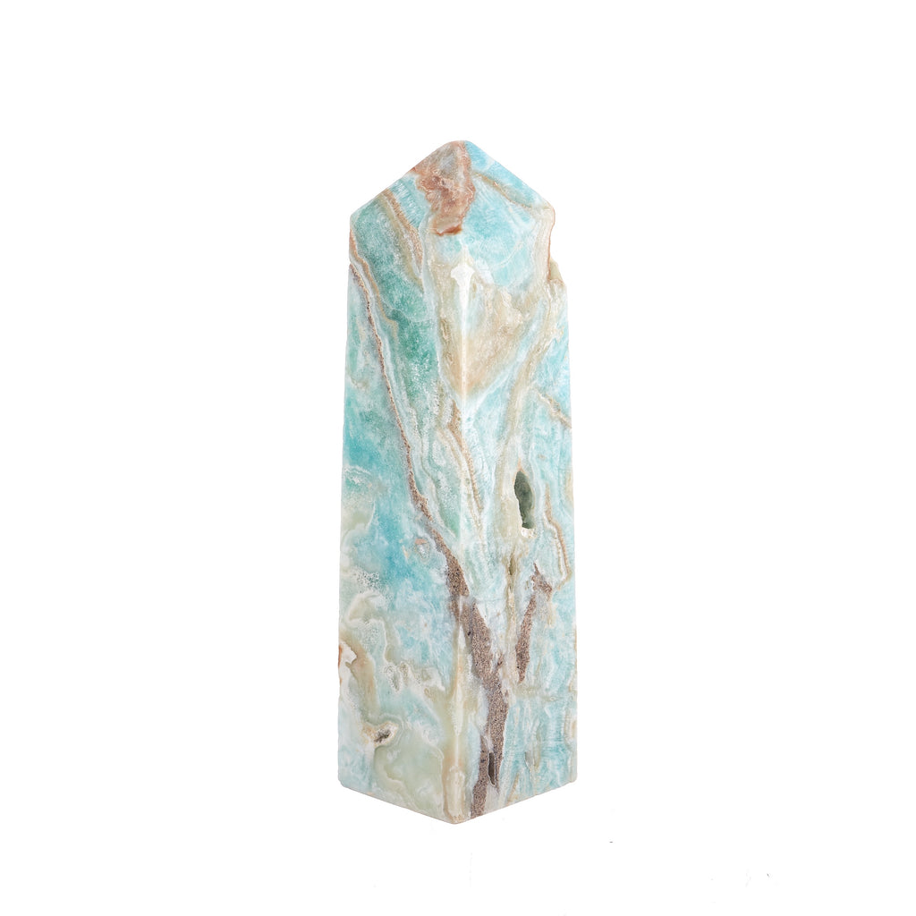 Blue Aragonite Point #3