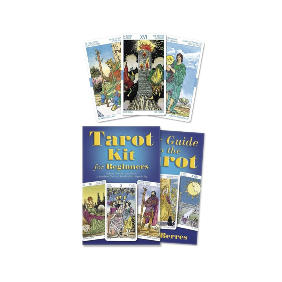 Tarot Kit for Beginners // By Janet Berres & Lo Scarabeo's