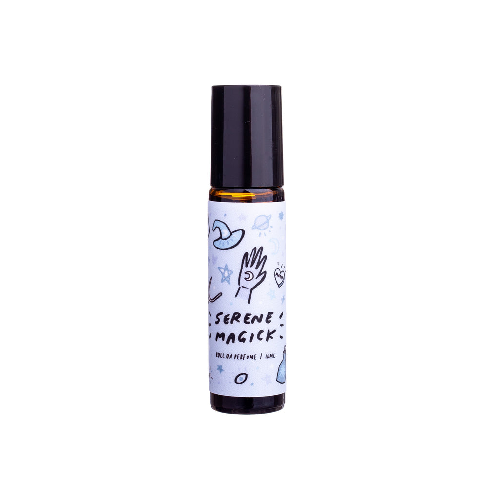 The Witch Apprentice // Serene Magick Roll-on Perfume Blend 10ml