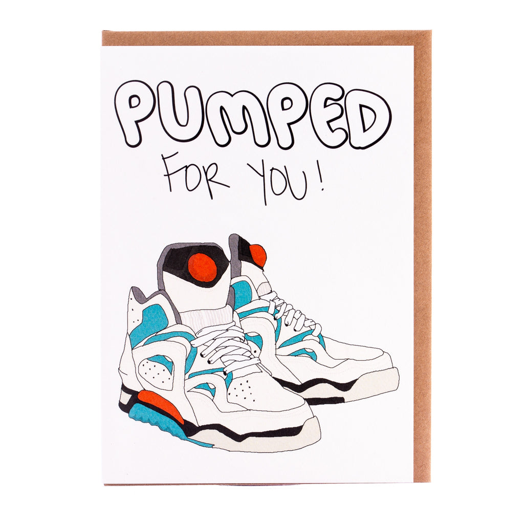 Tayham // Pumped for You Greeting Card