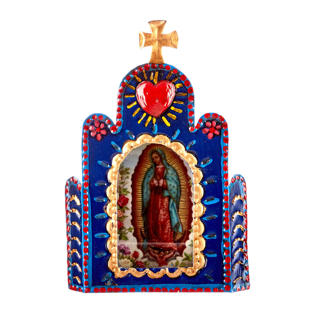 Mexican Handcrafts // Church Wall Hanging / Ornament
