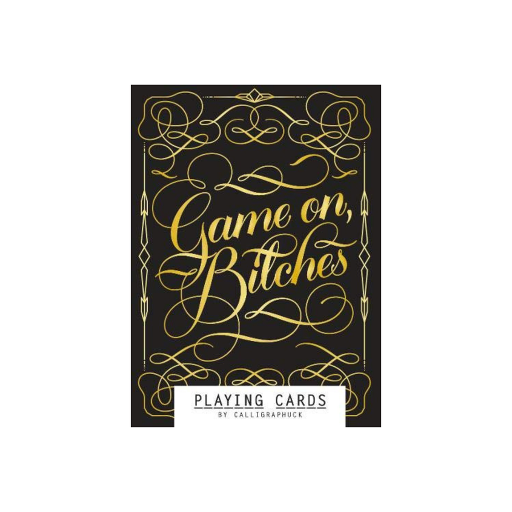 Game On, Bitches - Playing Cards