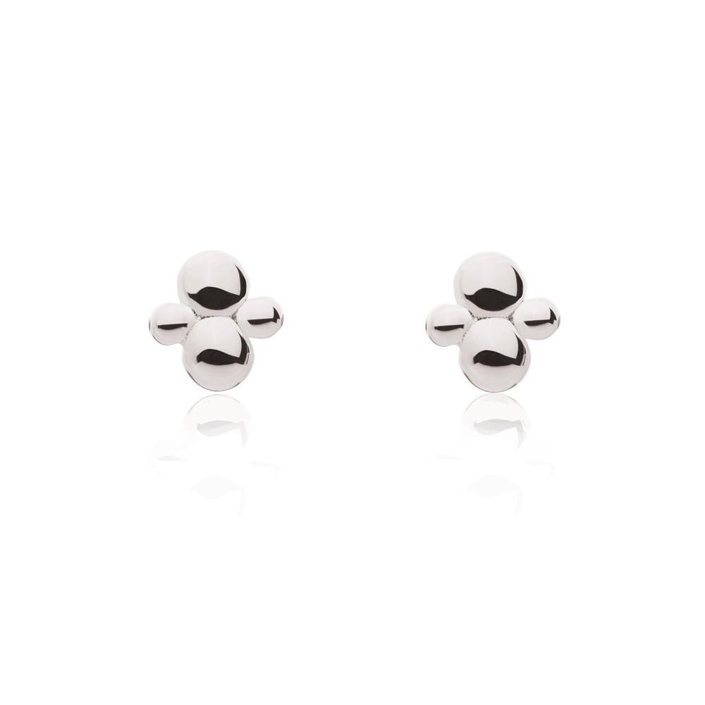 Linda Tahija // Cluster Stud Earrings - Sterling Silver