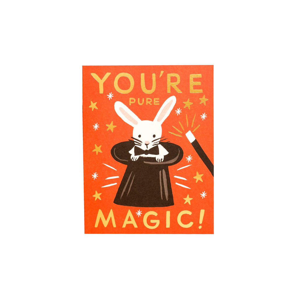 Rifle Paper Co // You're Pure Magic Greeting Card