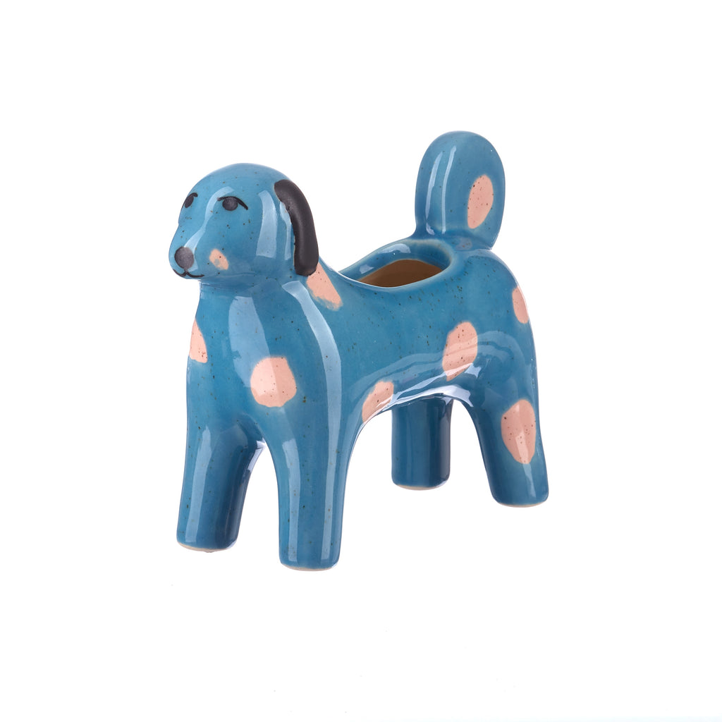 Jones & Co //  Aqua Morris Dog Pot