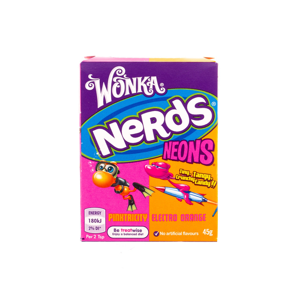 Wonka // Nerds Neon - Pinktricity & Electric Orange