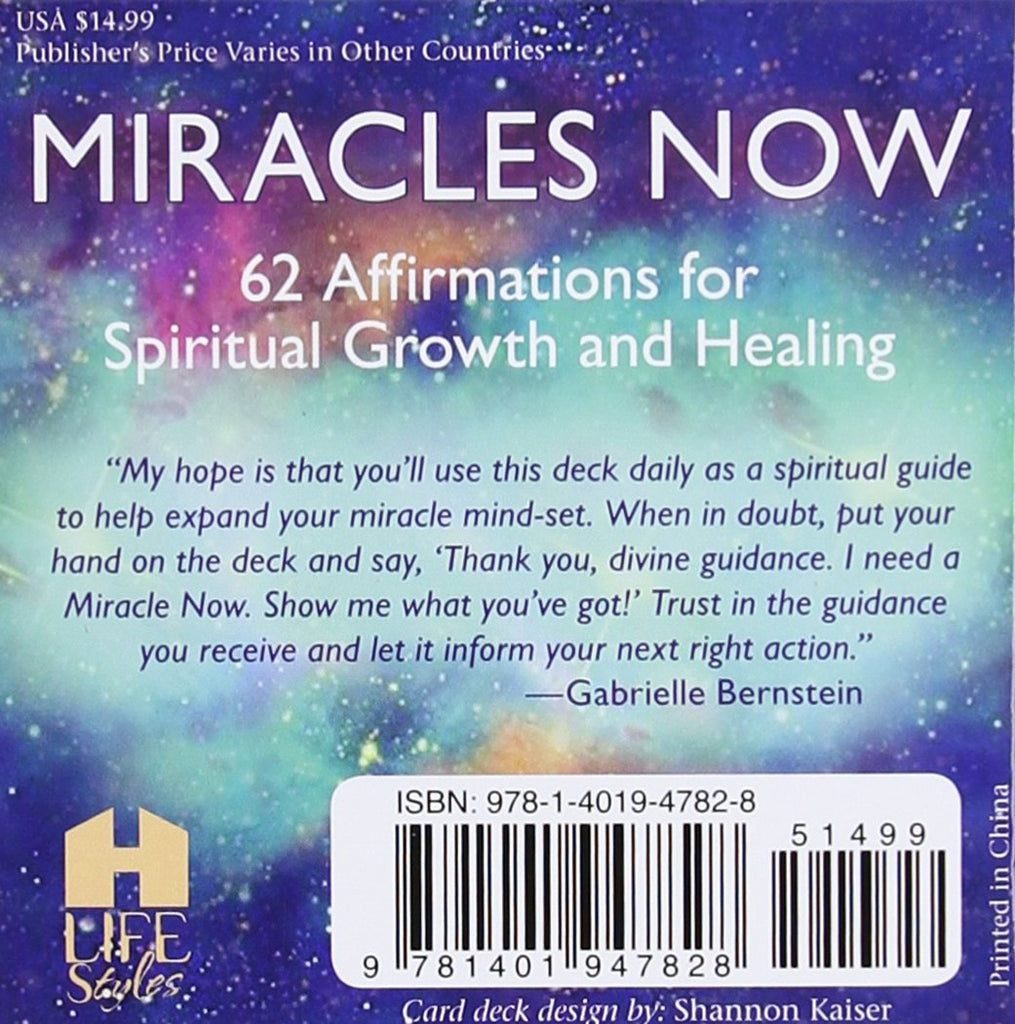 Miracles Now // Inspirational Affirmations and Life-changing Tools
