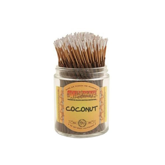 Wild Berry // Shorties Coconut Incense