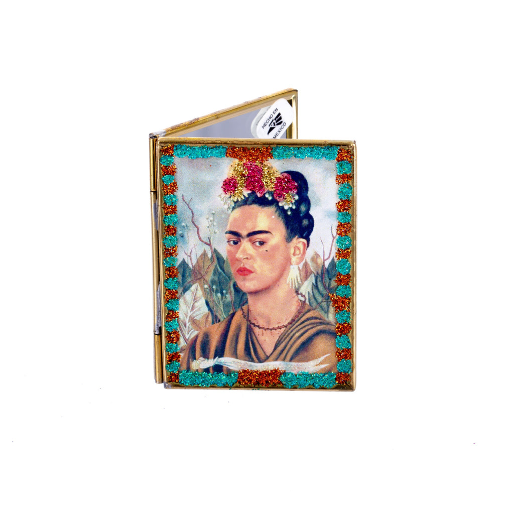 Mexican Handcrafts // Frida Compact Mirror - Assorted