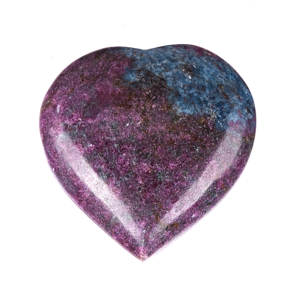 Ruby In Kyanite Heart #7