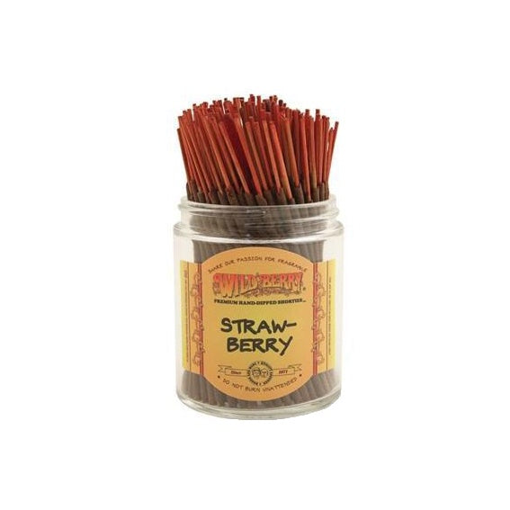 Wild Berry // Shorties Strawberry Incense
