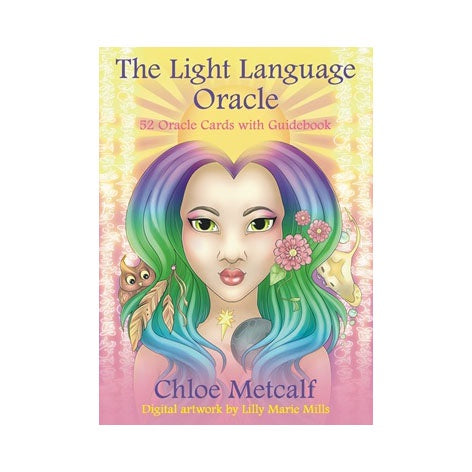 The Light Language Oracle Deck By Chloe Metcalf