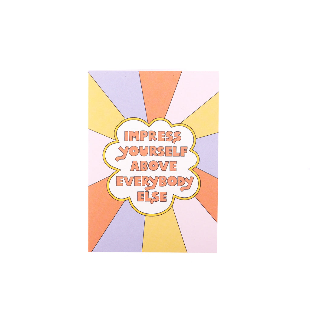 AHD // Impress Yourself Greeting Card