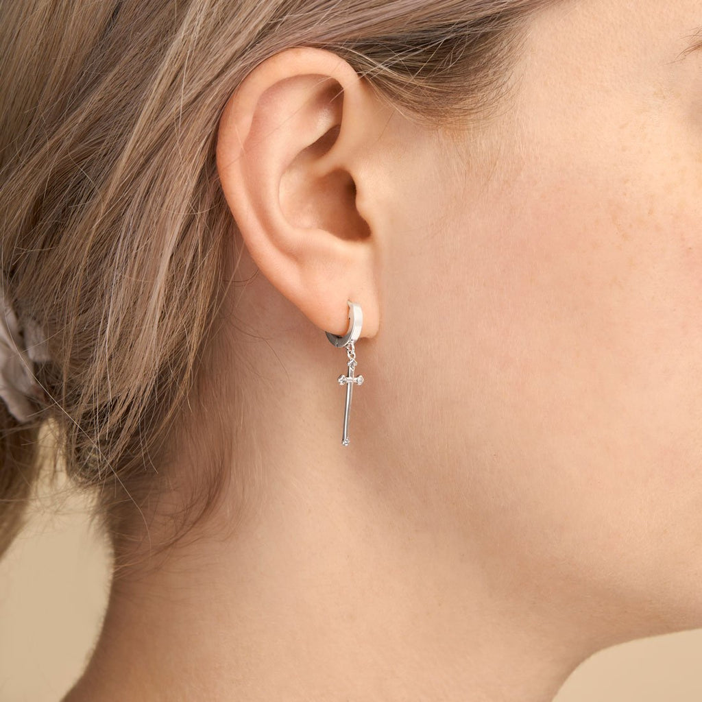 Midsummer Star // Absolution Cross Ear Cuffs