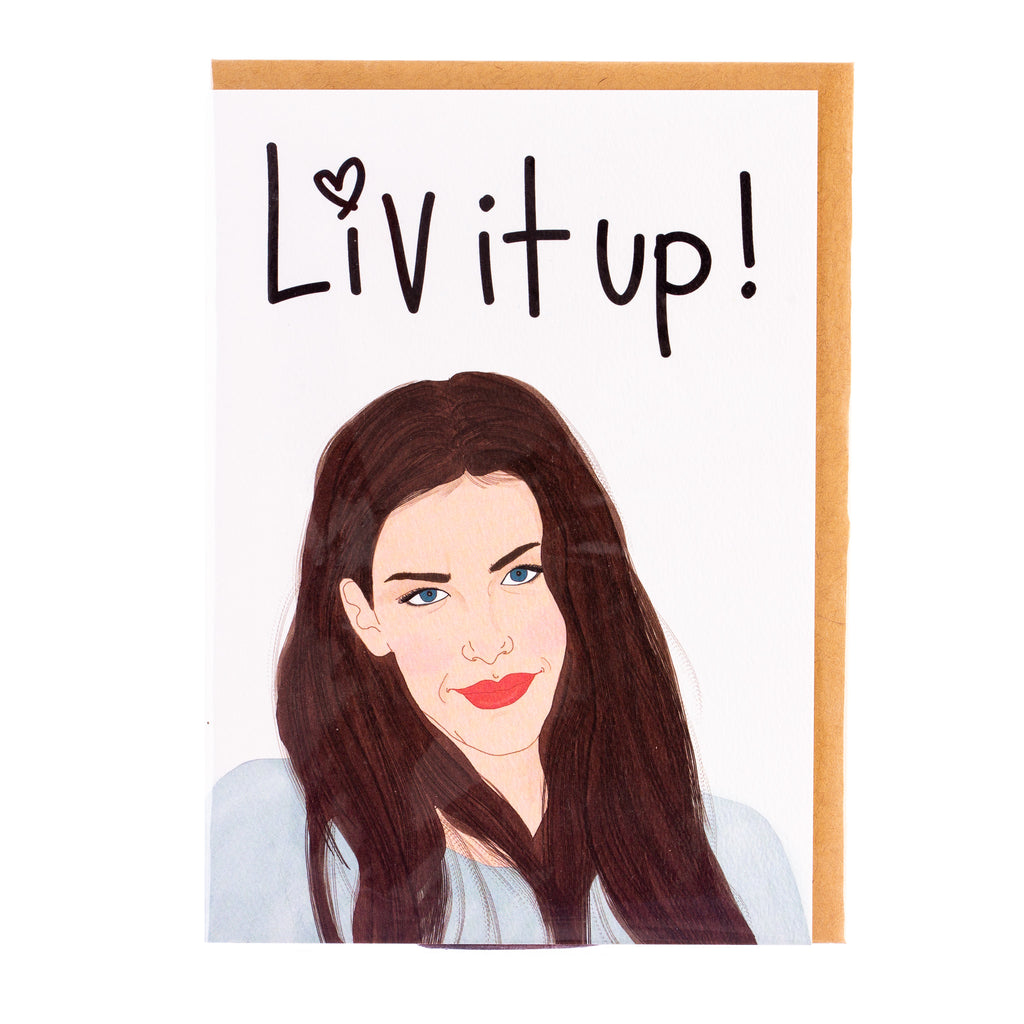 Tayham // Liv It Up Greeting Card