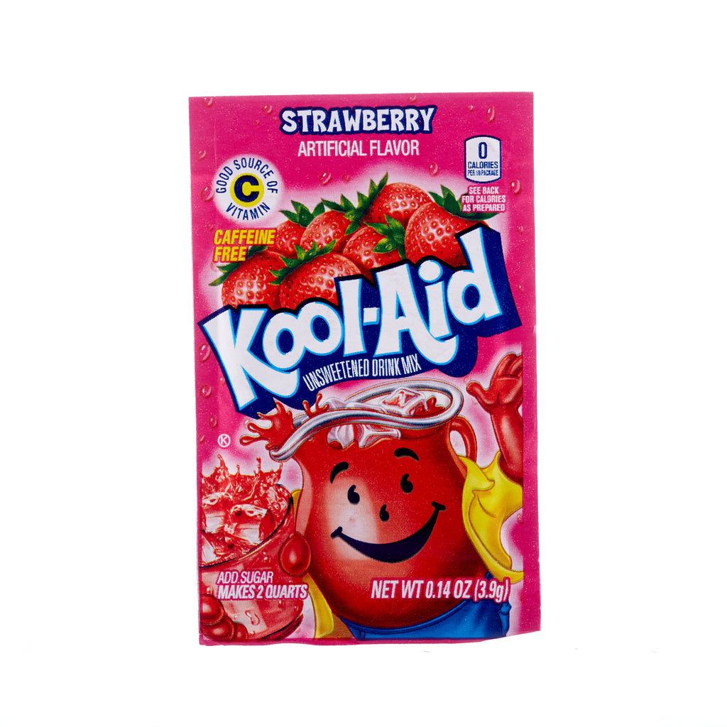 Kool-Aid // Drink Mix Sachet - Strawberry