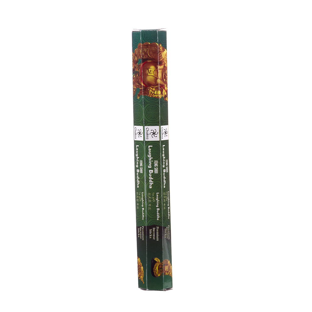 Chakra Incense // Feng Shui Premium Incense Sticks - Laughing Buddha