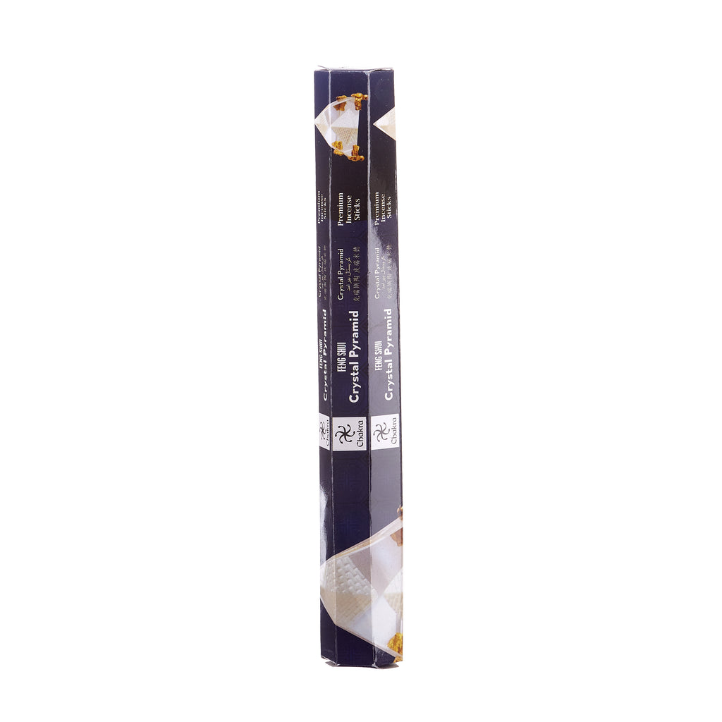 Chakra Incense // Feng Shui Premium Incense Sticks - Crystal Pyramid