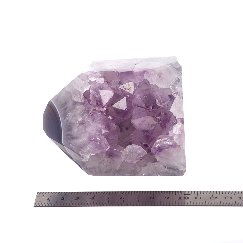 Amethyst Agate Polished Point #8