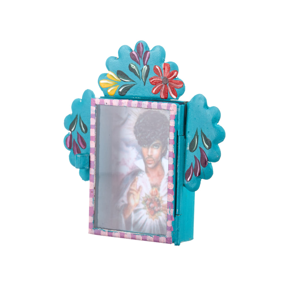 Mexican Handcrafts // Prince Teal Wall Hanging Ornament