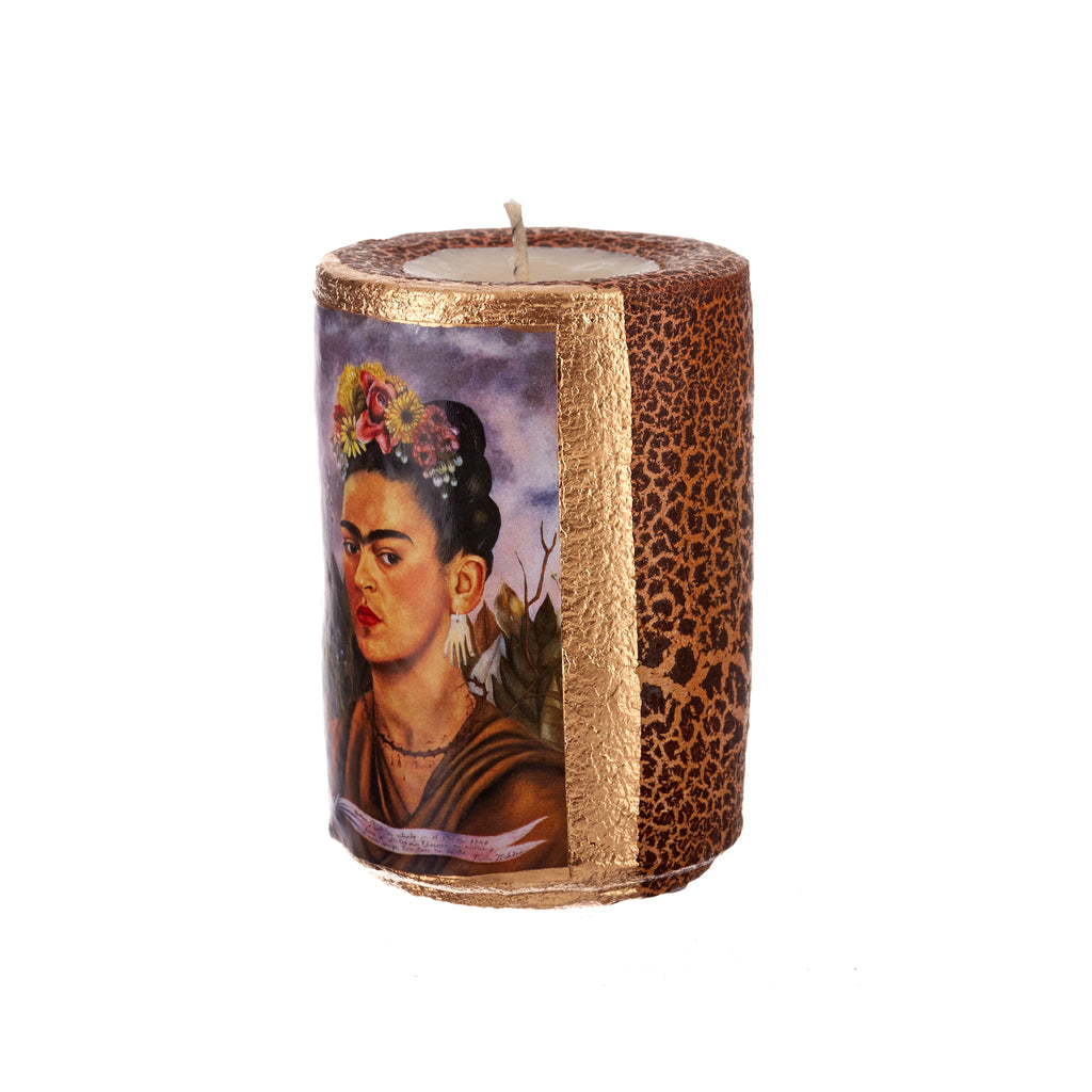 Mexican Handcrafts // Frida Prayer Candle
