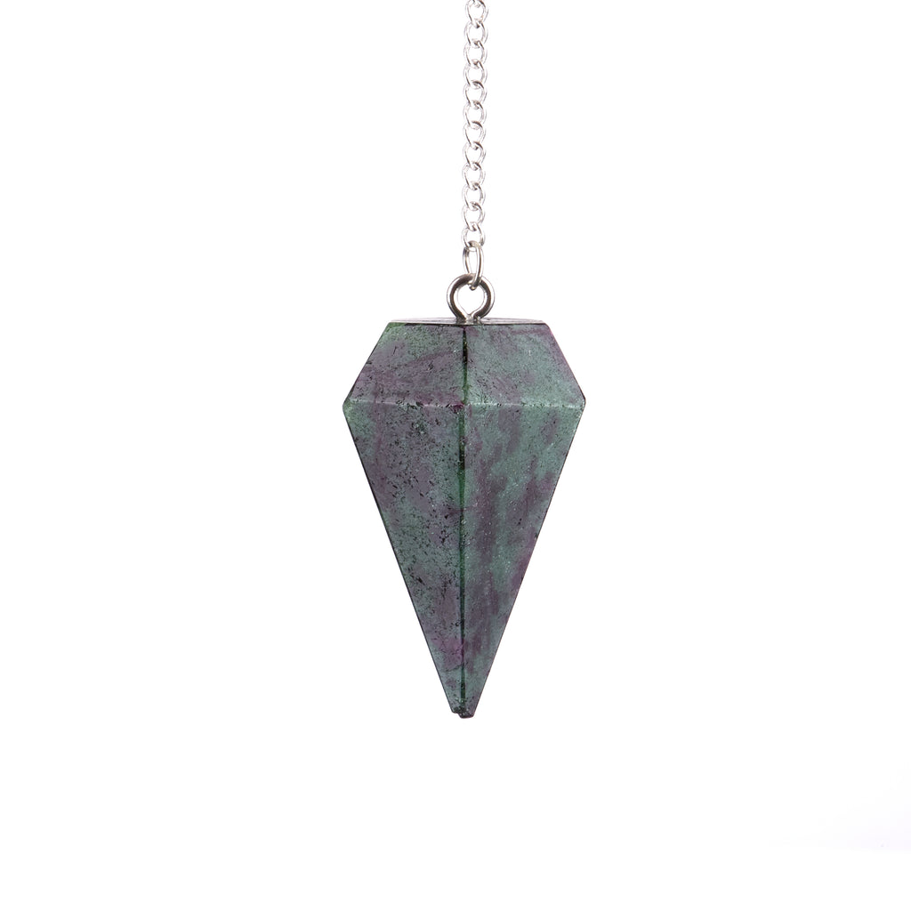 Ruby in Zoisite Pendulum