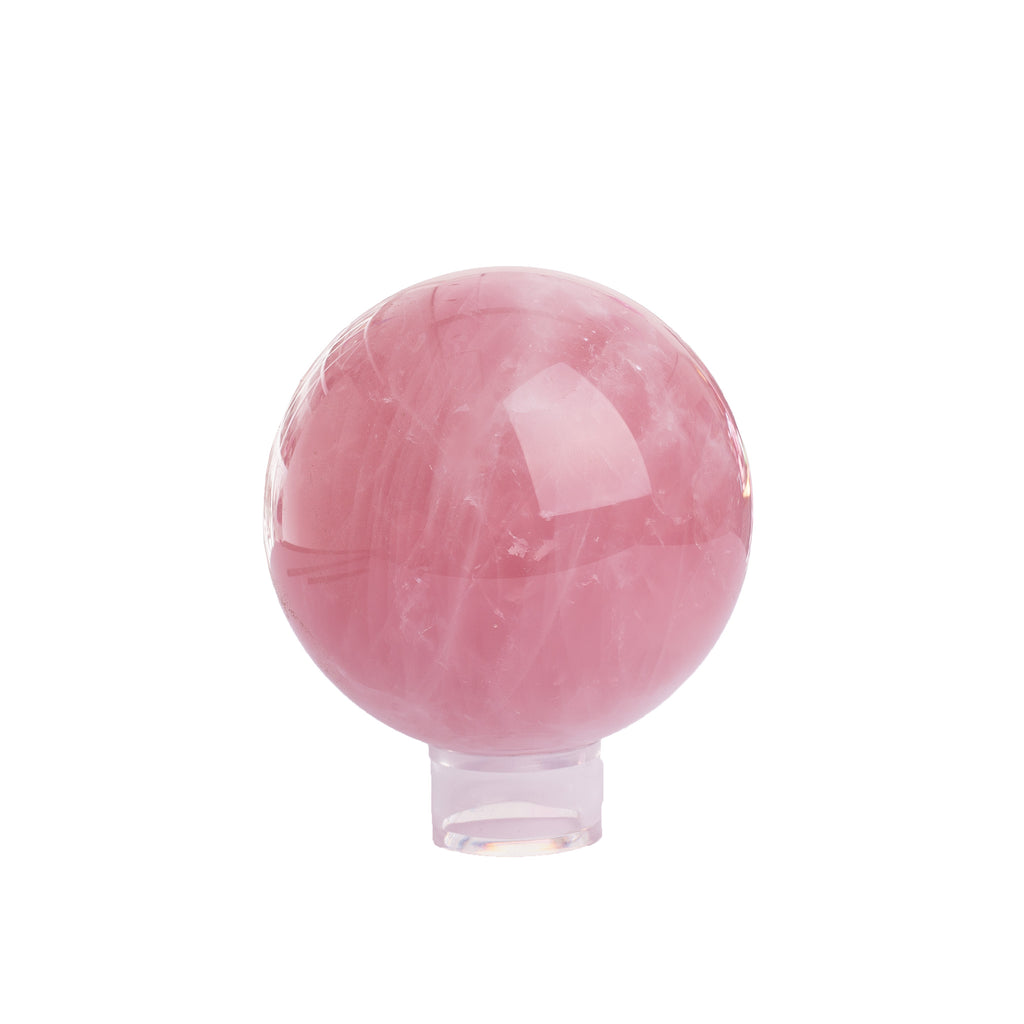 Rose Quartz Sphere #7