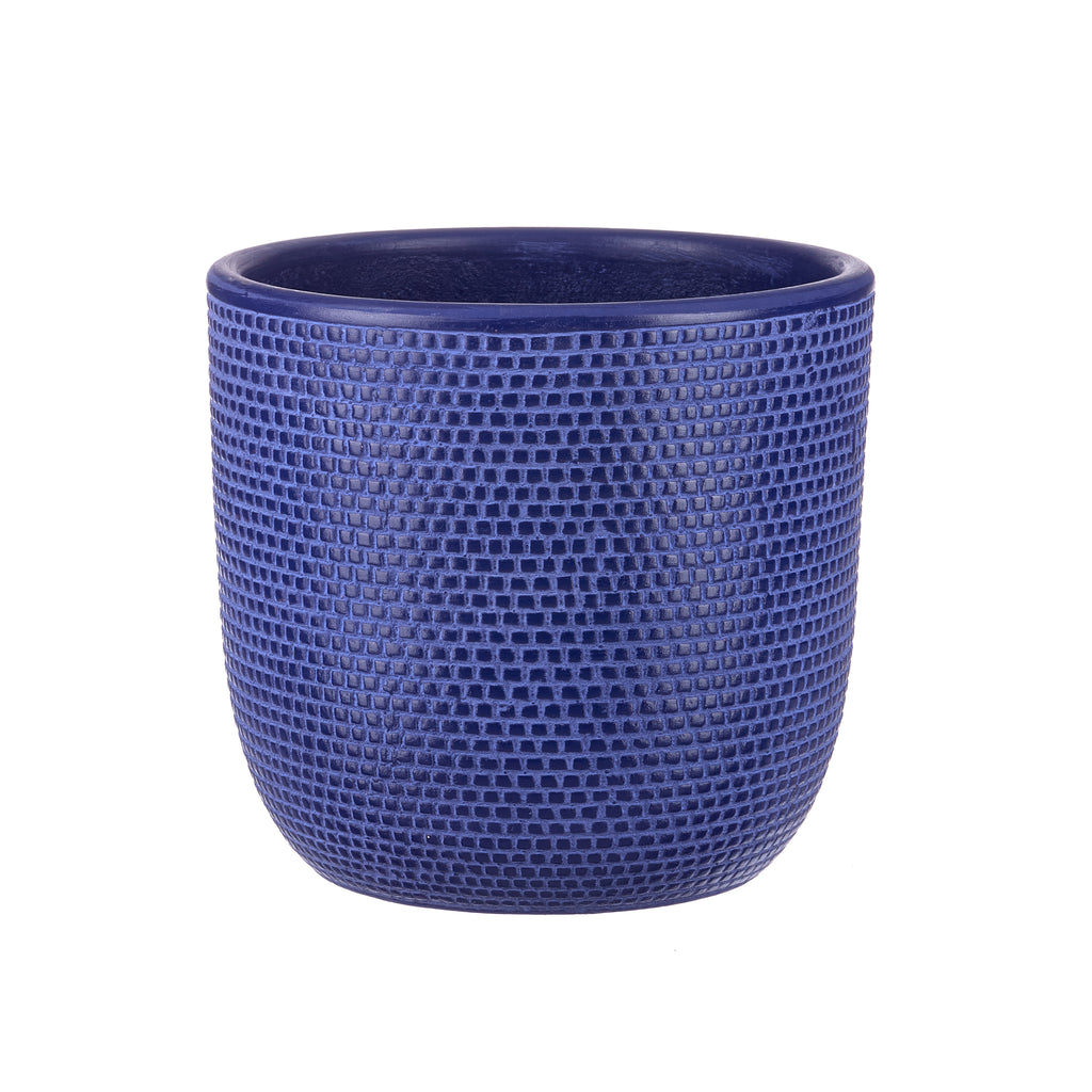 Jones & Co //  Indigo Heart Pot
