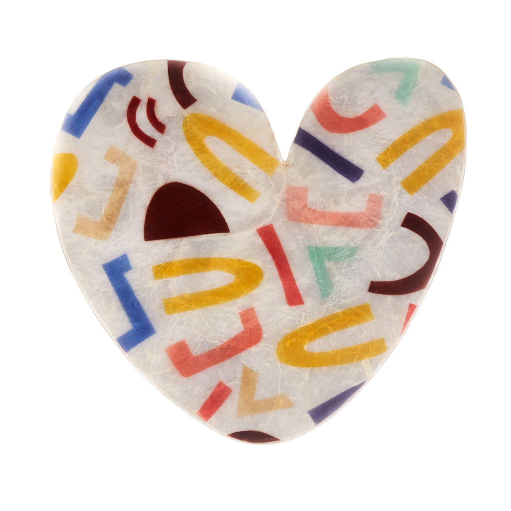 Jones & Co // Allsorts Heart - Coloured