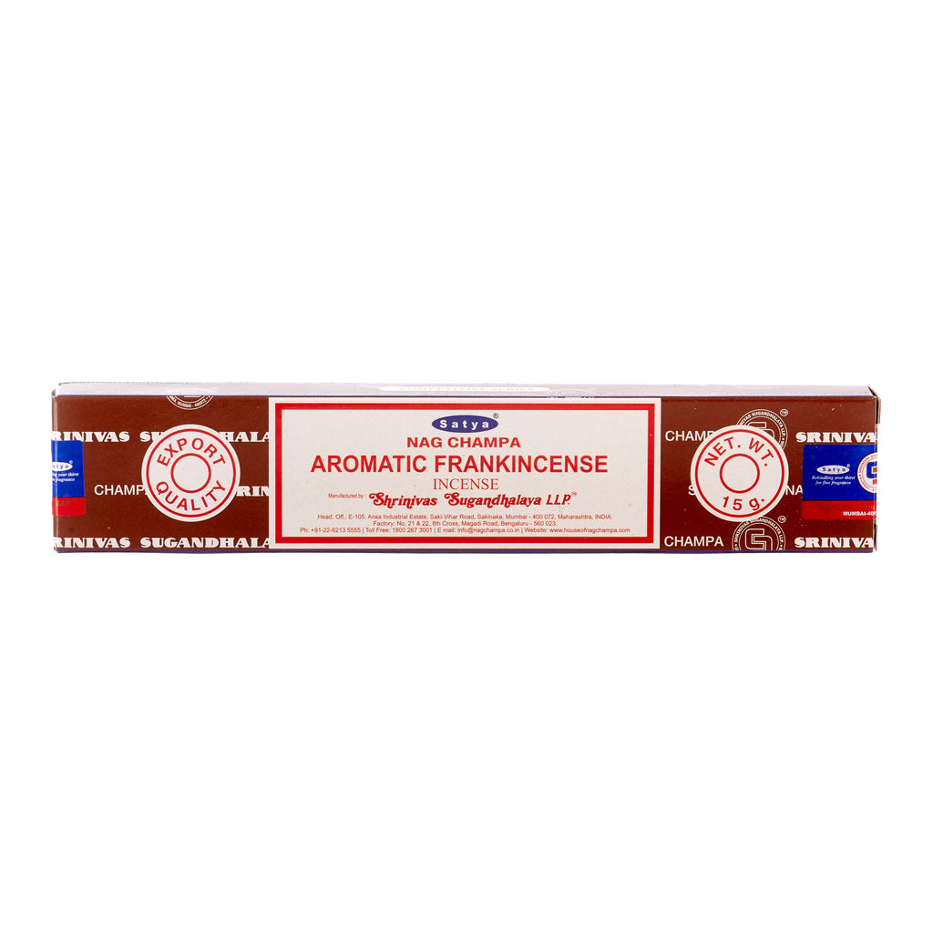 Aromatic Frankincense Incense
